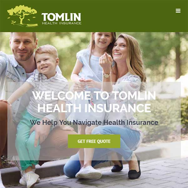 Website Redesign - Tomlin Health