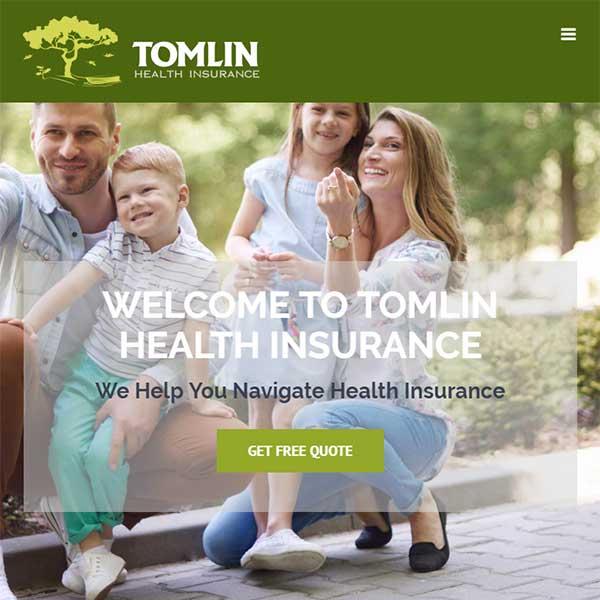 Website Redesign - Tomlin Health